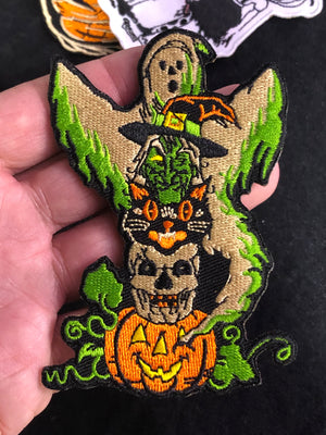 Halloween Character Totem Patch