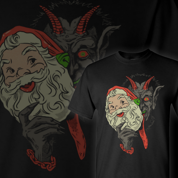 Krampus Claus Tee