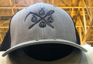 Logo Cap HEATHER GREY/BLACK