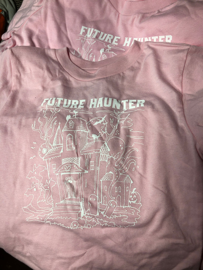 Future Haunter Tee - Youth - Pink