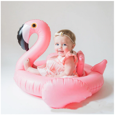 Baby Flamingo Inflatable Pool Float