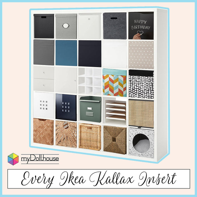 All the available Ikea Kallax Inserts 11.2020