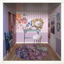 Load image into Gallery viewer, Belle Boudoir: myDoll.house bedroom photo of ikea hack diy dollhouse room insert