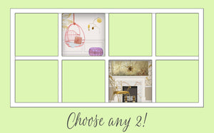 You Choose!: Two Dollhouse Room Inserts for $57!