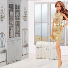 Load image into Gallery viewer, Faded and White - myDoll.house