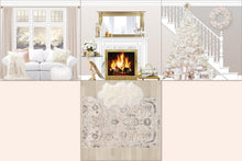 Load image into Gallery viewer, White Christmas room insert full open layout