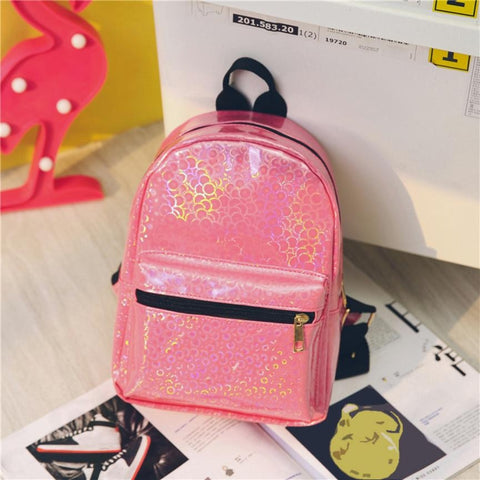 Mini's Pink Candy Coated Backpack