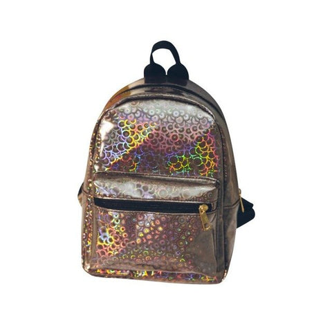 Mini's Brown Candy Coated Backpack
