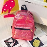 Mini's Red Candy Coated Backpack
