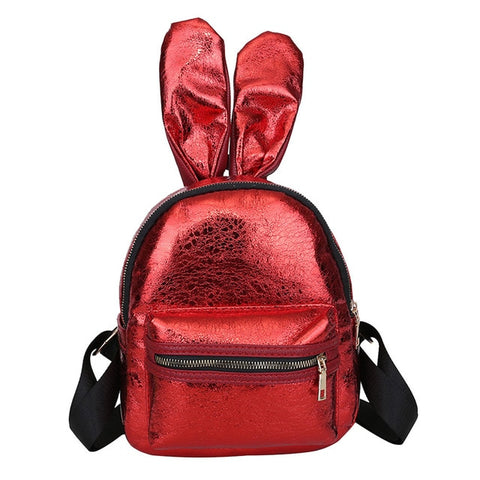 Red | Bunny Shine Softback Faux Leather