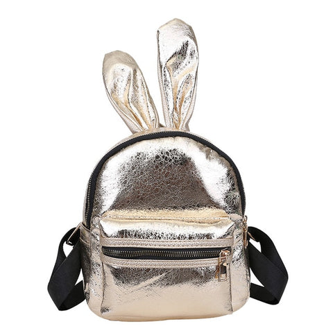 Champagne | Bunny Shine Softback Faux Leather