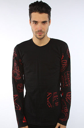 DJ Pattern Long Sleeve