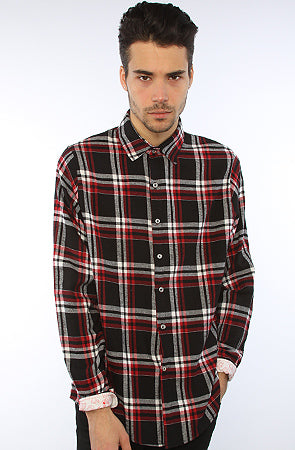 Red DJ Flannel
