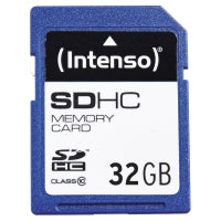 Intenso sdhc muistikortti cl10 32gb