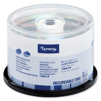 Pk50 lyreco dvd+r 4.7gb 1-16x spindle