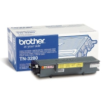 Brother tn-3280 laservärikasetti musta