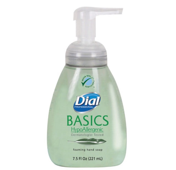 Dial Professional Basics foaming hand soap, 7.5oz, Honeysuckle, 8/carton, $2.99ea