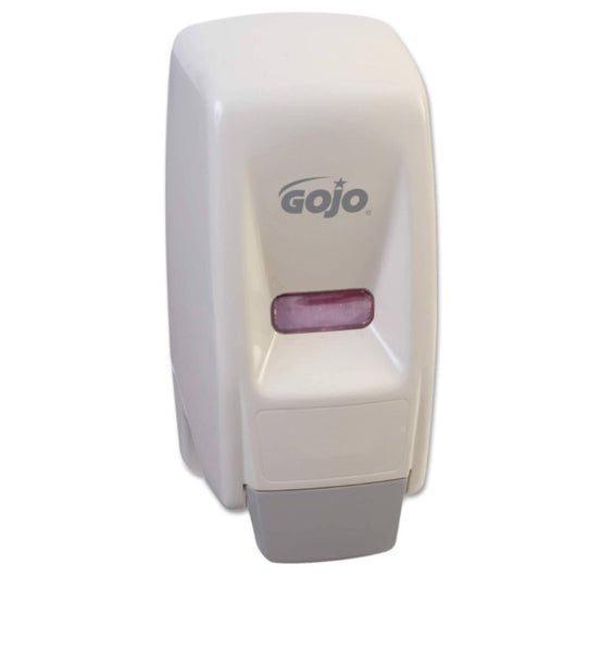 Go-Jo bag in box liquid soap dispenser, 800ml, black and white available