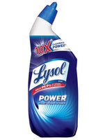 Restroom-Toilet-Lysol 10x Disinfectant toilet bowl cleaner, wintergreen scent, 24oz bottle, or 3/Pack