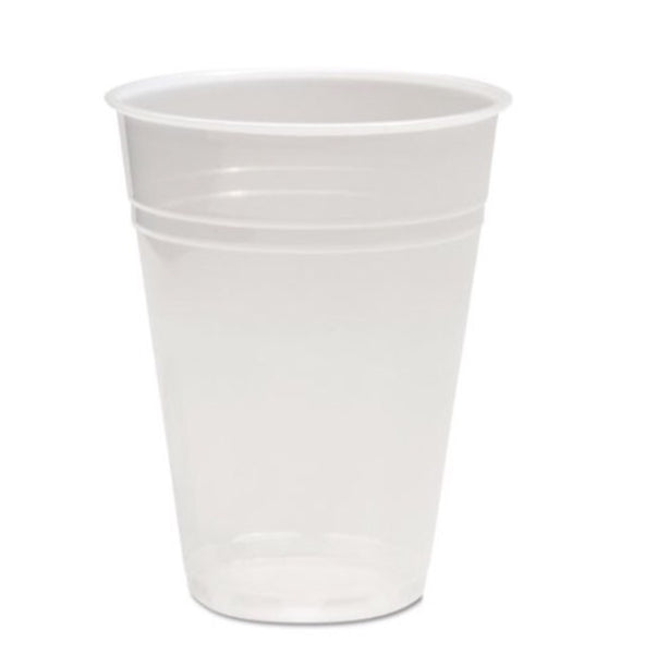 Translucent Plastic cold cups, available in 5oz, 7oz, 9oz, 12oz, and 16oz