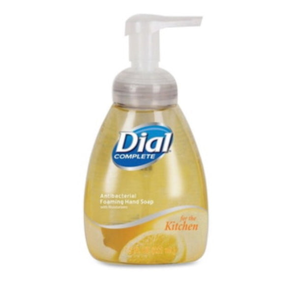 Dial Professional Antimicrobial foaming hand soap, light citrus, 7.5oz pump bottle, 8/carton, $3.37ea
