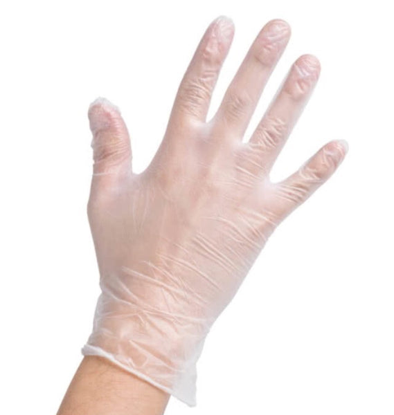 Vinyl gloves $.03/ea-1,000 units