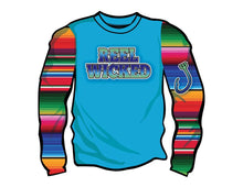 Ladies Serape LS
