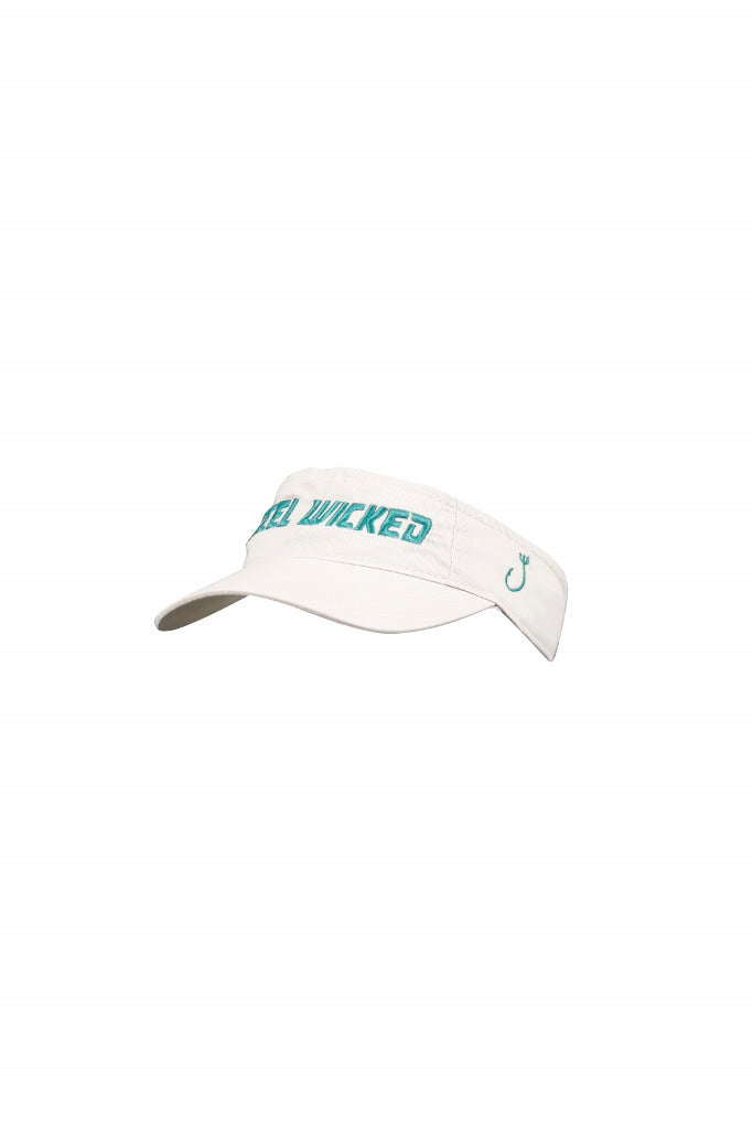 Tan Visor w Green