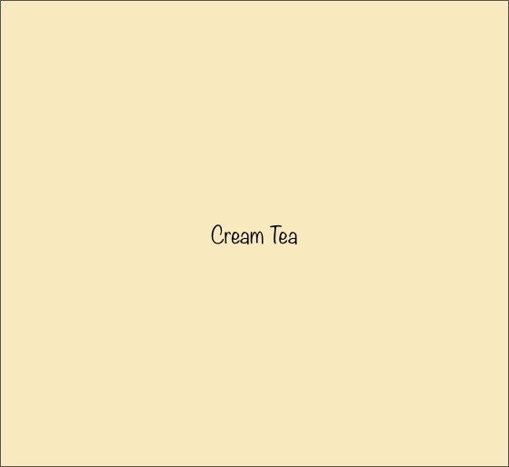 Wall Paint - CREAM TEA