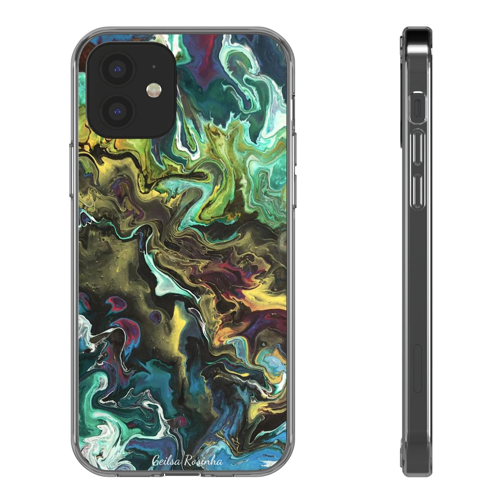 Clear Cases Featuring RosaflorArt Artwork