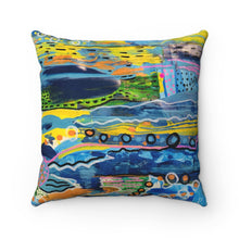 Load image into Gallery viewer, Spun Polyester Square Pillow