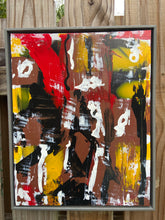 Load image into Gallery viewer, 16 x 20  Framed Abstract Acrylic Painting