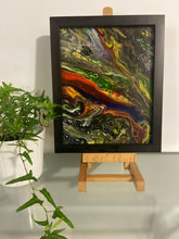 Load image into Gallery viewer, Framed Acrylic Painting 8 x 10