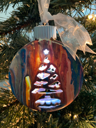 Pre-Lit Ceramic Hand Painted Ornament