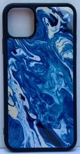 "Load image into Gallery viewer, iPhone 11 Pro Max Case ""Blue Waves"""