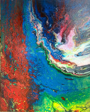 Load image into Gallery viewer, Abstract 16 x 20 Original Painting