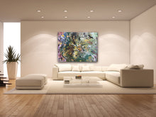 "Load image into Gallery viewer, 30""x 40"" Abstract Hand Painted Acrylic Art"