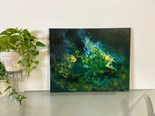 "Load image into Gallery viewer, Abstract Painting 16"" x 20"" Acrylic Pour"