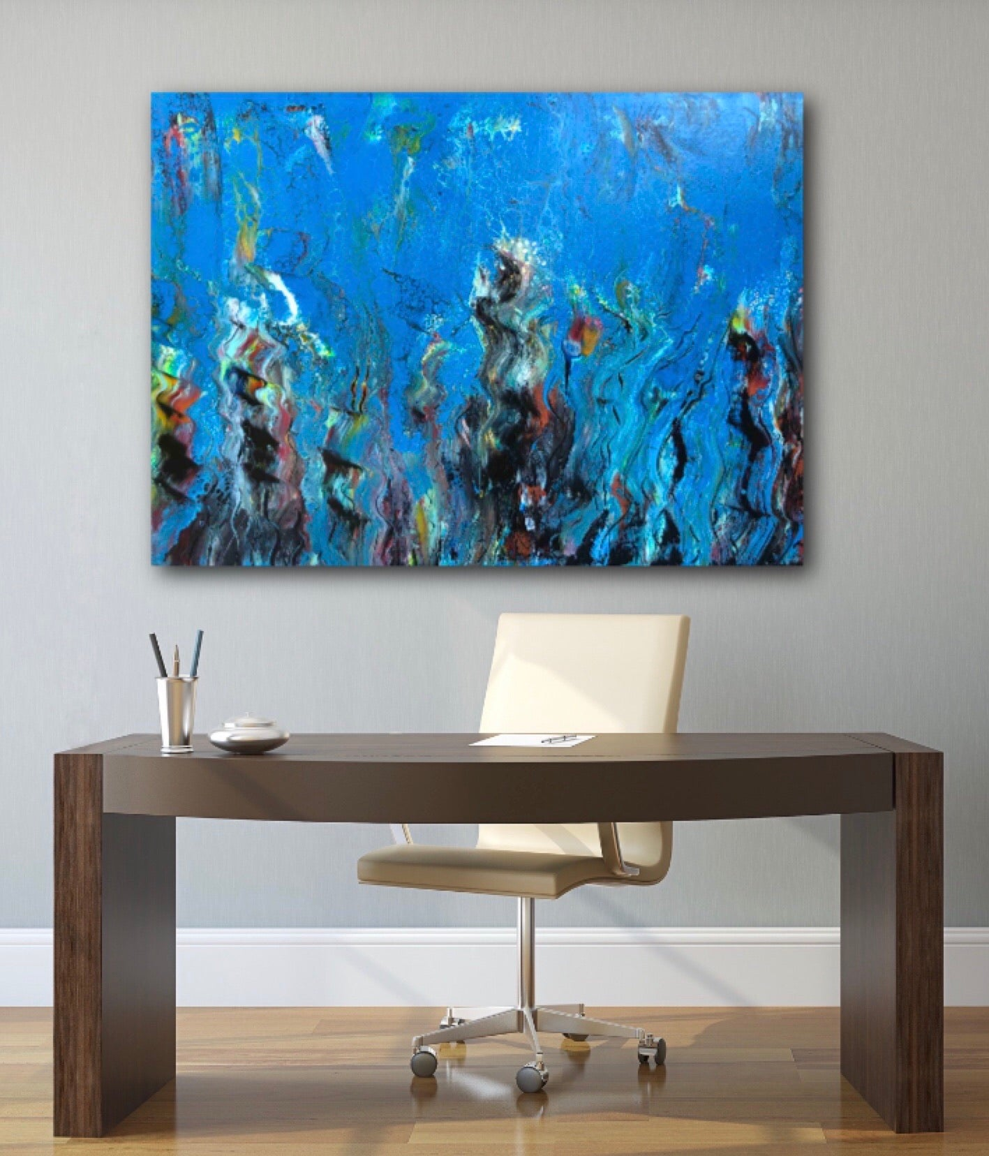 "24"" x 36""  Original Abstract  Painting"