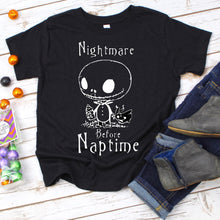 Load image into Gallery viewer, Nightmare Before Naptime Youth Shirt