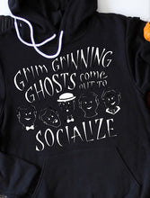 Load image into Gallery viewer, Grim Grinning Ghosts Hoodie