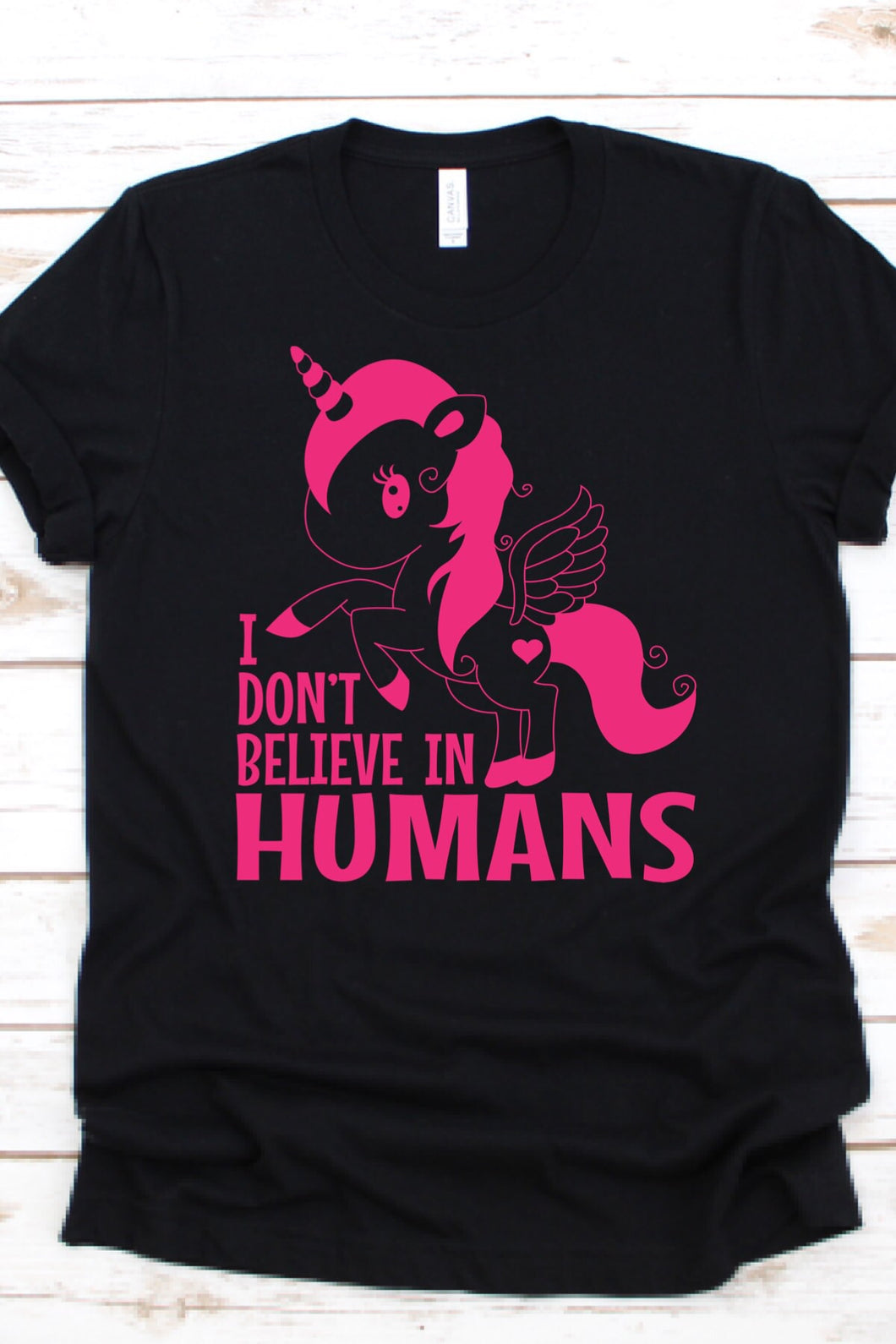 I Don't Believe In Humans-Adult Shirt