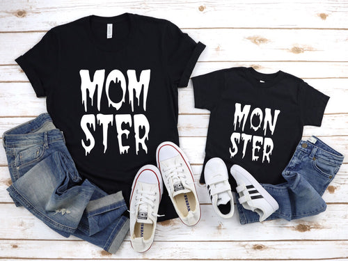 Monster Mommy & Me Child's T-Shirt