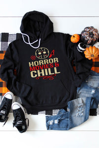 Horror Movies & Chill Hoodie