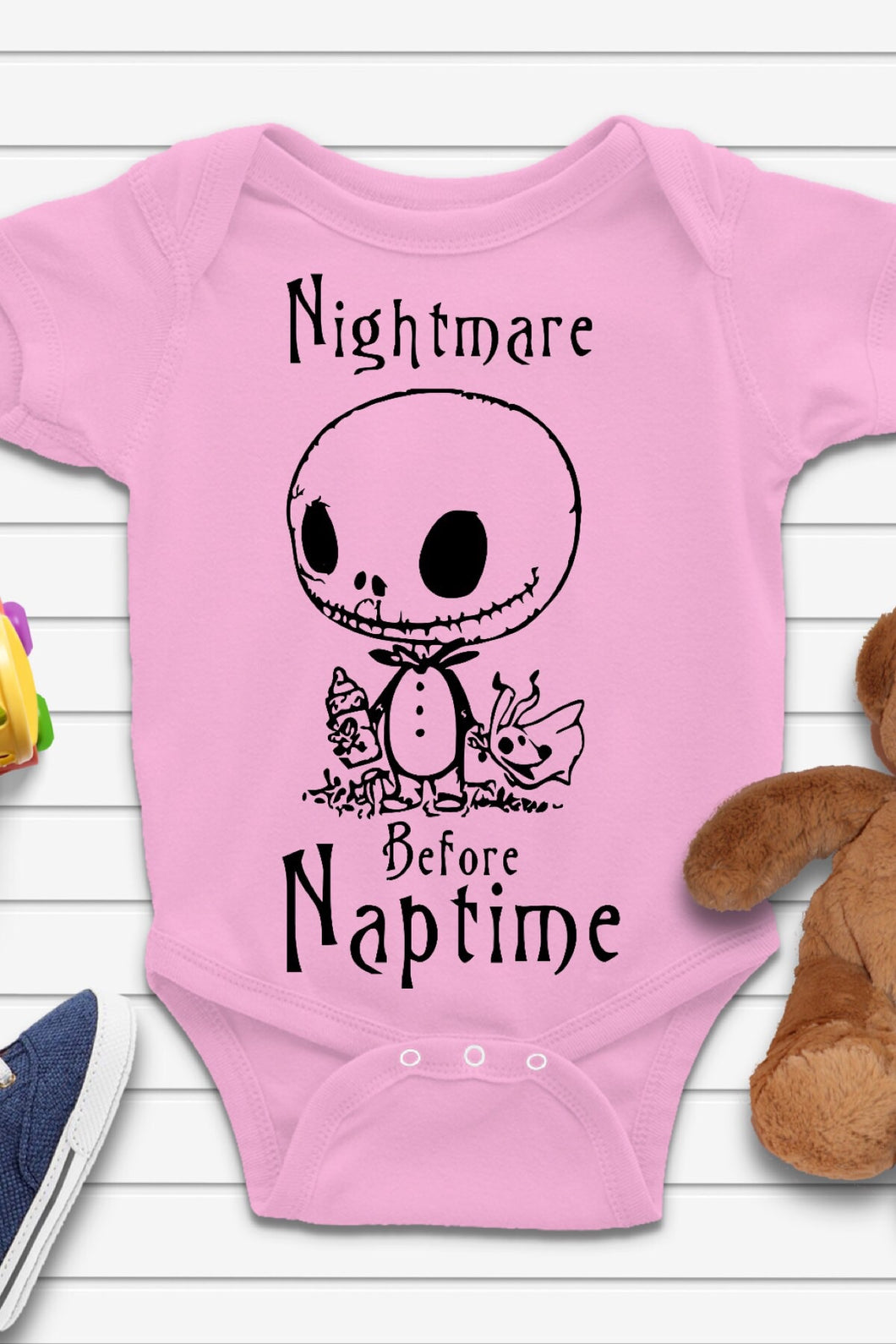 Nightmare Before Naptime Onesie