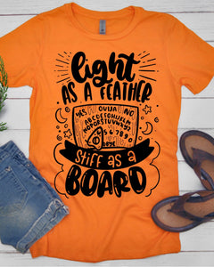 Light as a Feather, Stiff as a Board T-Shirt