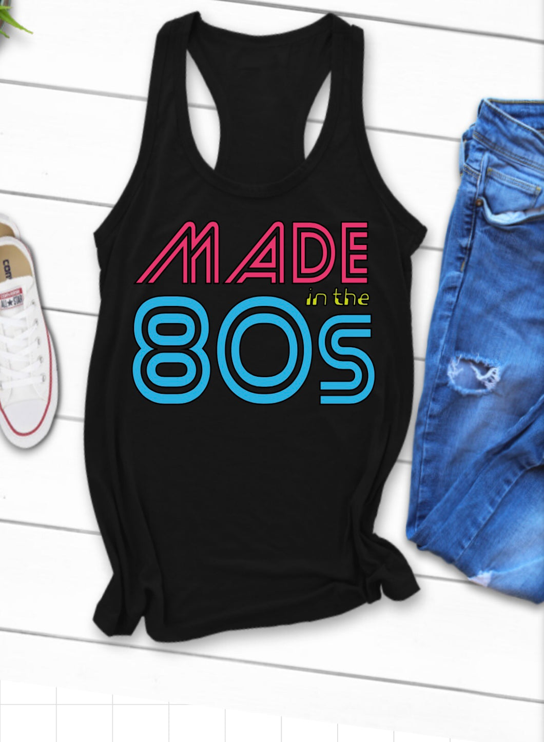 Made In The 80s Racerback Tank