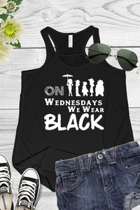 Black Wednesday Racerback