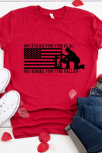 Load image into Gallery viewer, Stand For the Flag T-Shirt