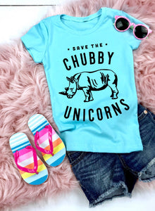 Save The Chubby Unicorn Youth T-Shirt